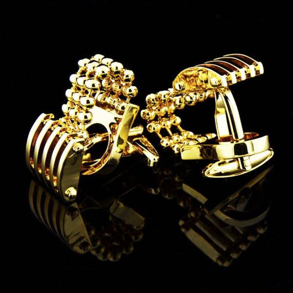 Mens-Gold-Chain-Cuff links-from-Gentlemansguru
