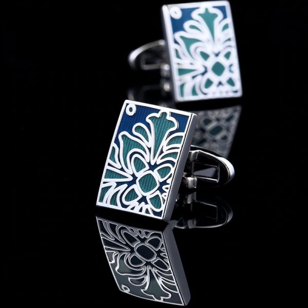 Mens Turquoise Totem Cufflinks Sets from Gentlemansguru.com