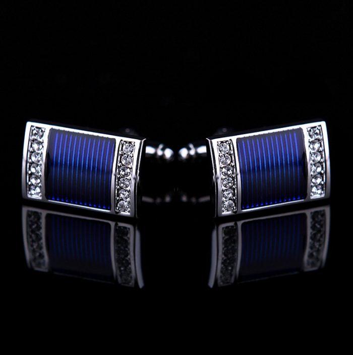 Royal Blue Wedding Cufflinks Sets from Gentlemansguru.com