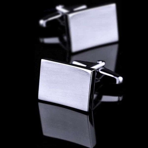 Solid Silver Cufflinks from Gentlemansguru.com