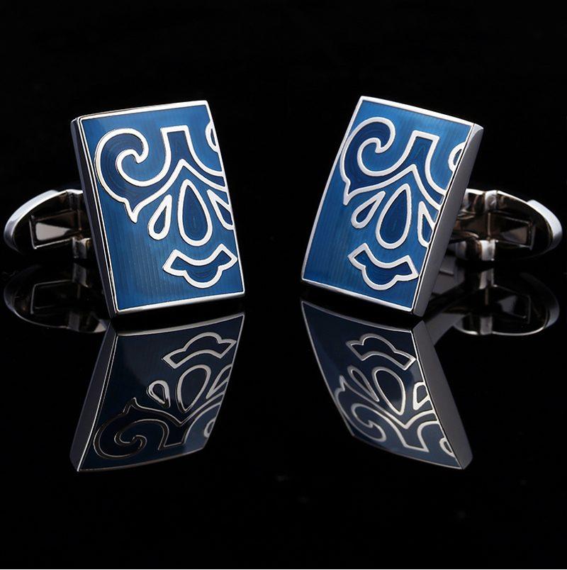 Totem Vintage Pattern Cufflinks Sets for men Gift from Gentlemansguru.com