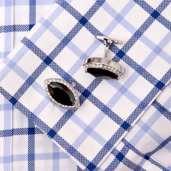 david yurman Black Diamond Cufflinks Swarovski Prices from Gentlemansguru.com