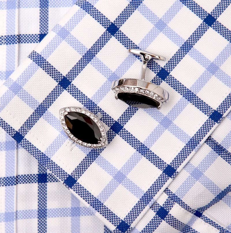 david yurman Black Diamond Cufflinks Swarovski Prices from Gentlemansguru.com