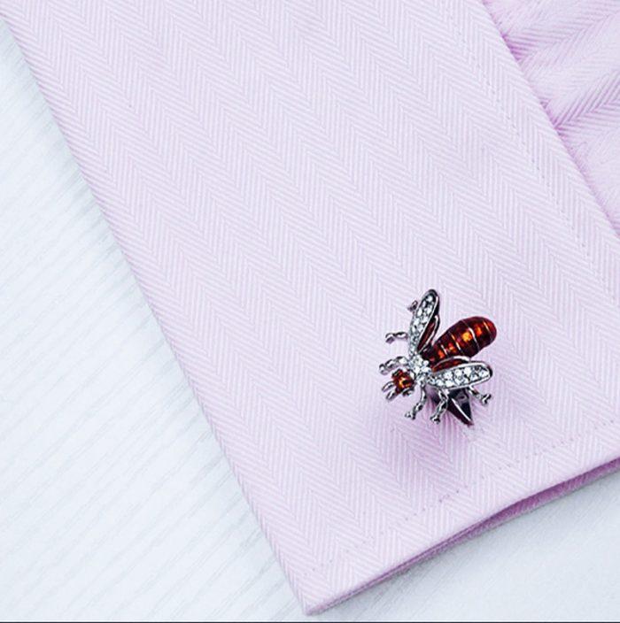 Bee Cufflinks Uk from Gentlemansguru.com