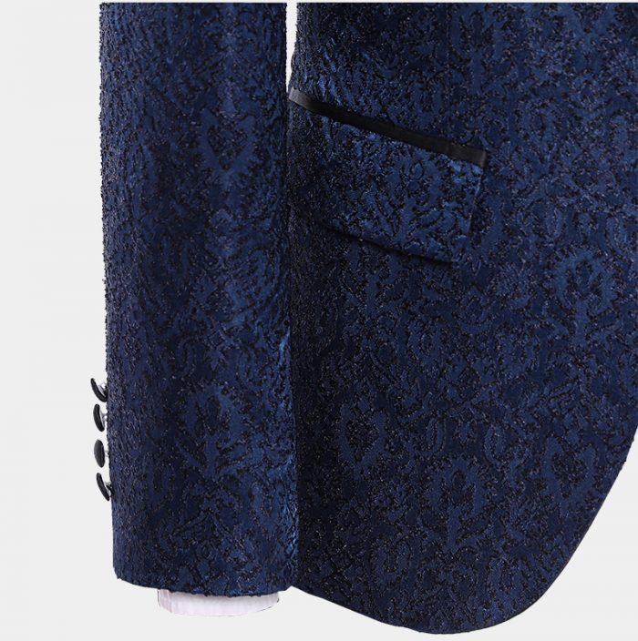 Navy Blue Wedding Gromm Suits-from-Gentlemansguru.com