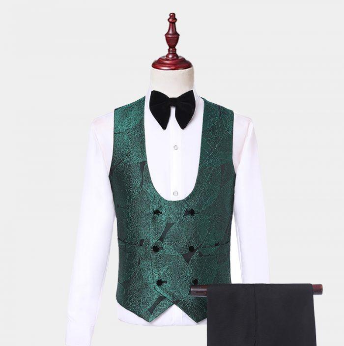 Emerald Green Tuxedo Vest from Gentlemansguru.com
