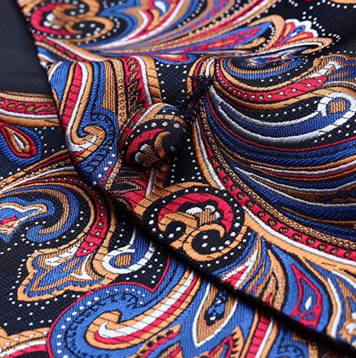 Mens Colorful Paisley Vest And Tie set Groom-Wedding-Tuxedo from Gentlemansguru.com (2)