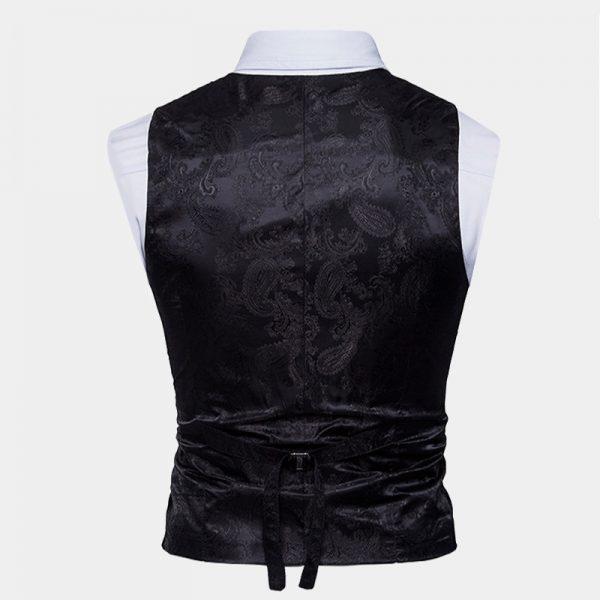 Mens Double Breasted Paisley Waistcoats Vest from Gentlemansguru.com