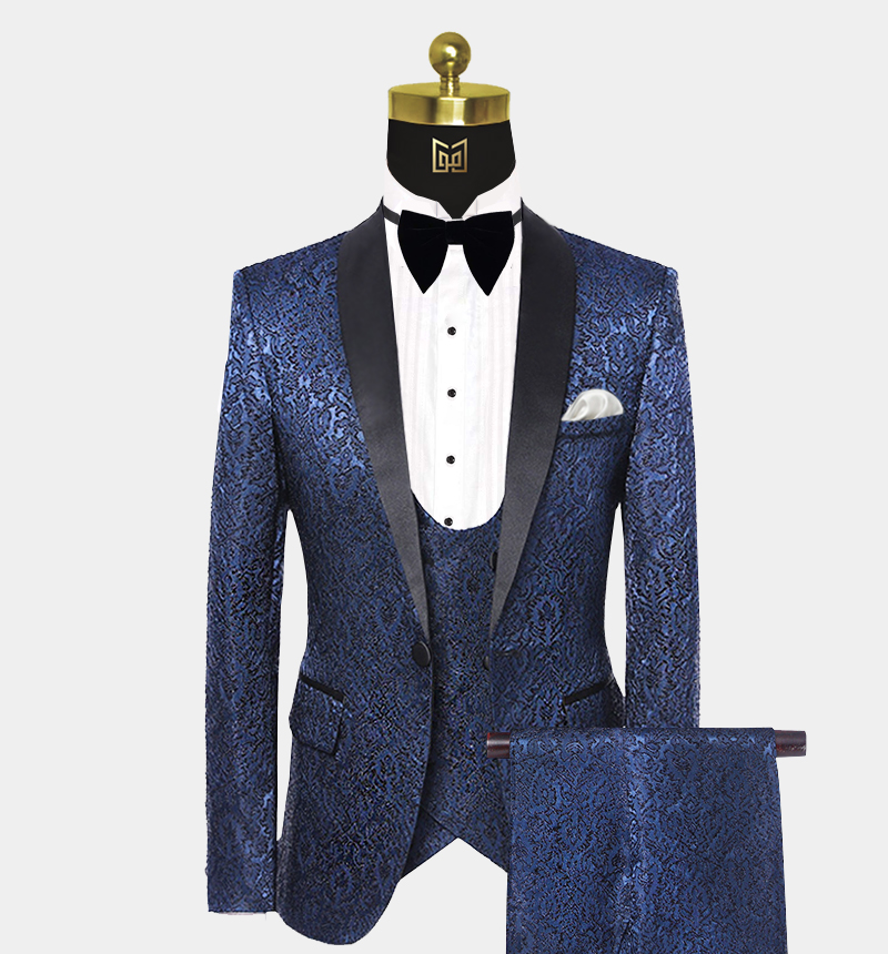 Mens-Navy-Blue-Floral-Tuxedo-Wedding-Prom-Suit-from-Gentlemansguru.com