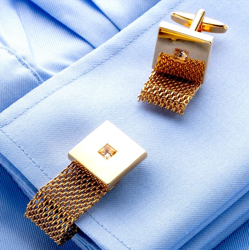 Mens Tateossian Antique Vintage Wrap Around Cufflinks from Gentlemansguru.com