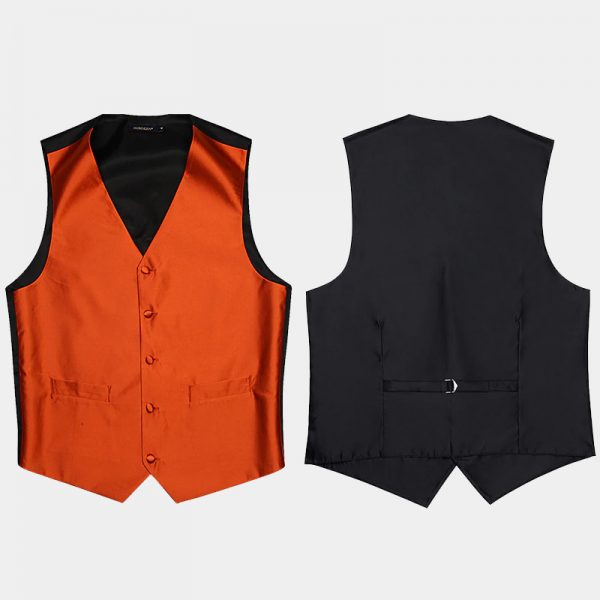 Orange Vest And Top For Men from Gentlemansguru.com