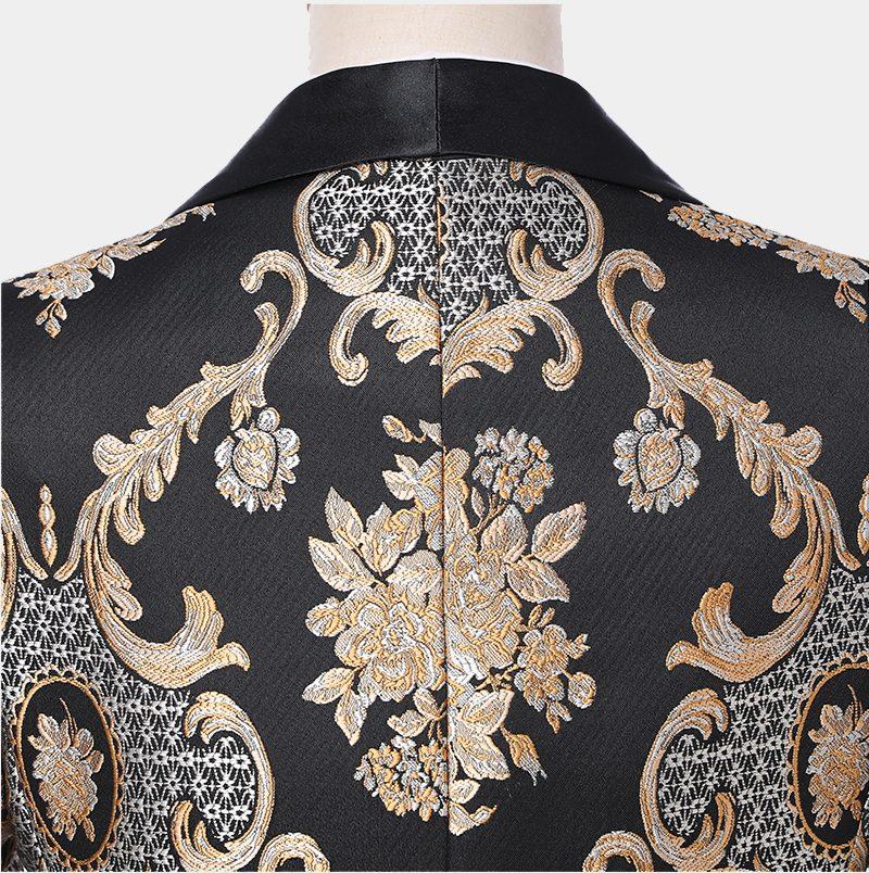 Vintage Tuxedo Suit With Paisley Print from Gentlemansguru.com