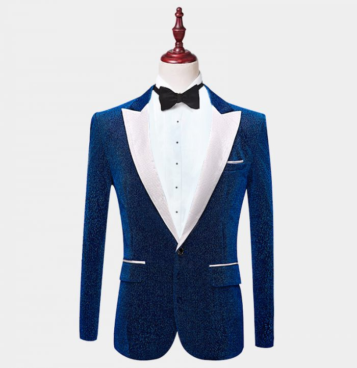 Mens-Blue-Glitter-Tuxedo-Jacket-from-Gentlemansguru.com
