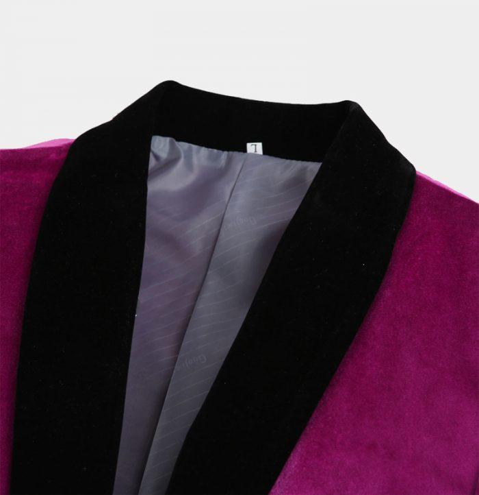 Mens-Magenta-Pink-Velvet-Tuxedo-Jacket-from-Gentlemansguru.com