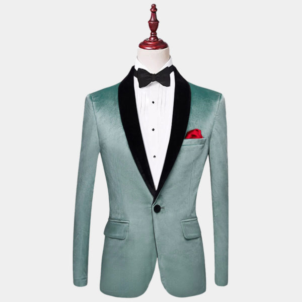 Mens-Turquoise-Velvet-Tuxedo-Jacket-Blazer-from-Gentlemansguru.com