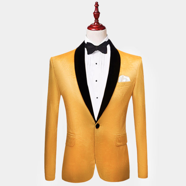 Mens-Yellow-Gold-Velvet-Tuxedo-Jacket-Blazer-from-Gentlemansguru.com