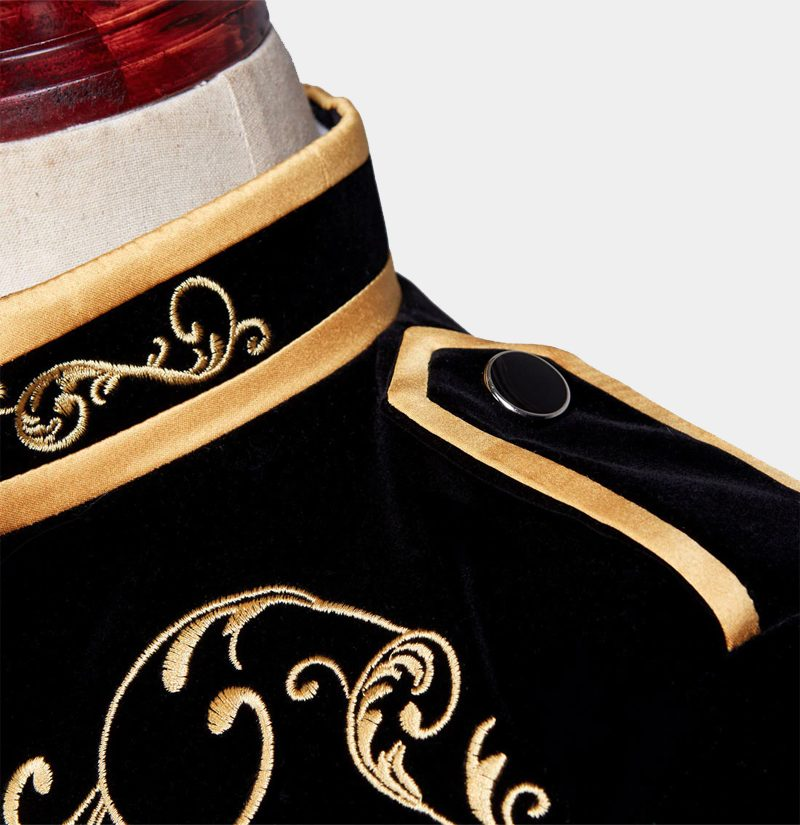 Prince-Jacket-Asian-Style-With-Black-And-Gold-from-Gentlemansguru.com