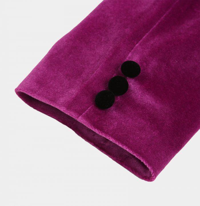 Prom-Magenta-PInk-Velvet-Tuxedo-Jacket-from-Gentlemansguru.com
