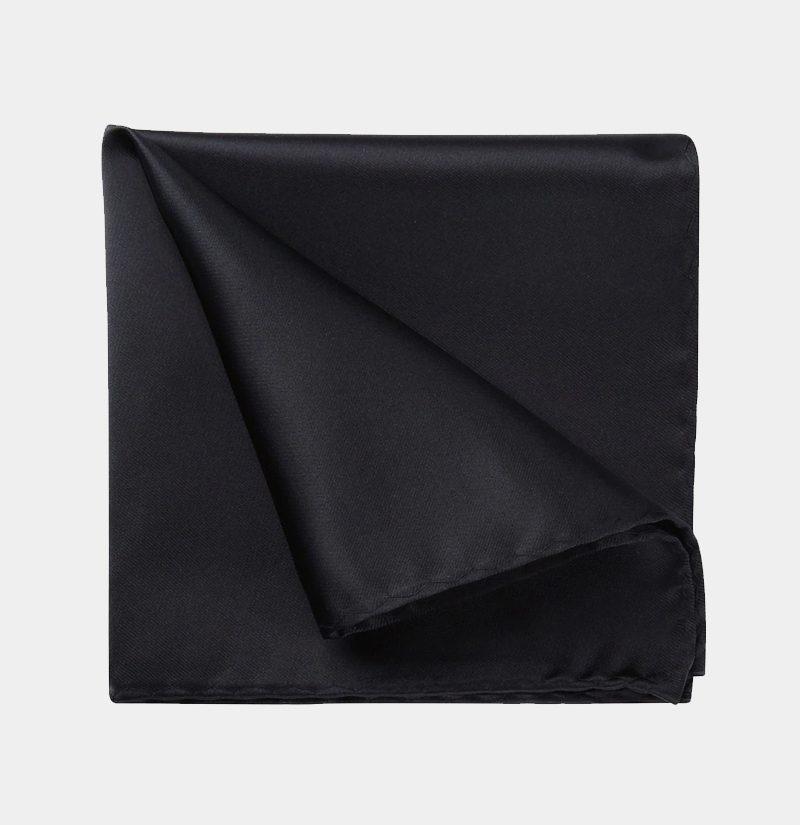 Silk-Black-Pocket-Square-Hankerchief-from-Gentlemansguru.com
