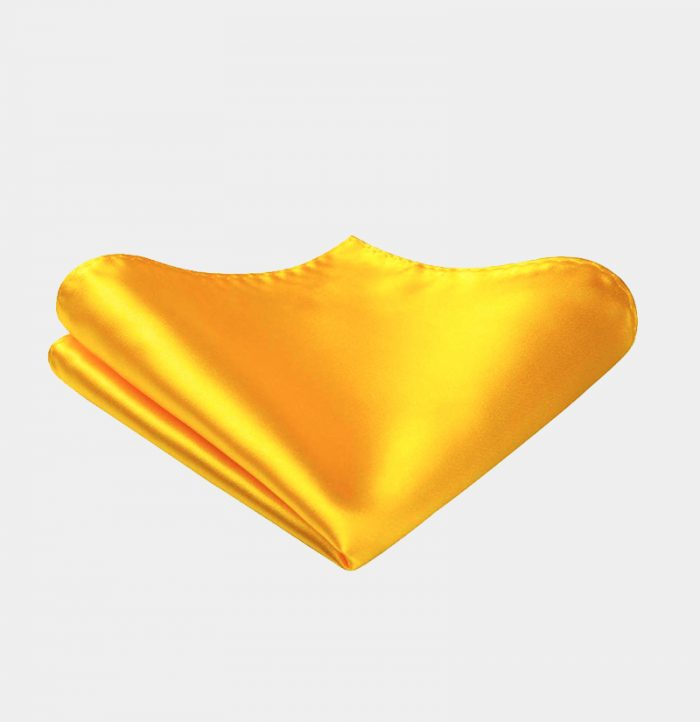 Solid-Gold-Silk-Pocket-Square-Hankerchief-from-Gentlemansguru.com