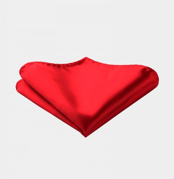 Solid-Red-Silk-Pocket-Square-Hankerchief-from-Gentlemansguru.com