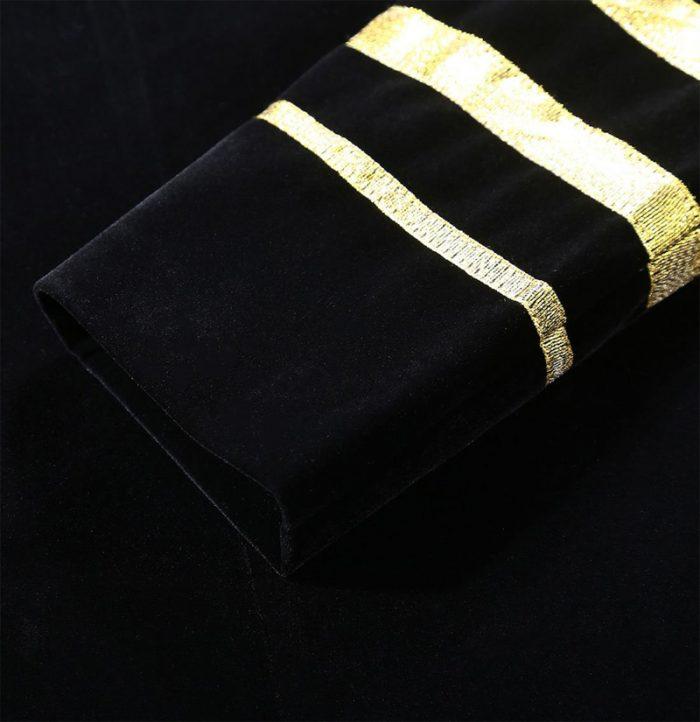 Velvet-Black-And-Gold-Embroidered-Tuxedo-Jacket-from-Gentlemansguru.coml