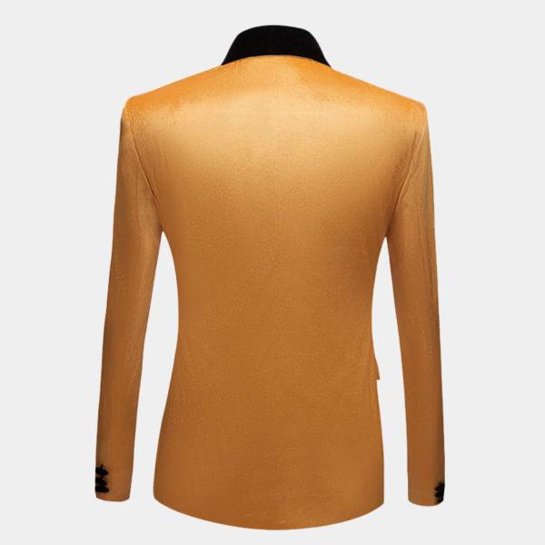 Yellow-Gold-Velvet-Dinner-Jacket-from-Gentlemansguru.com