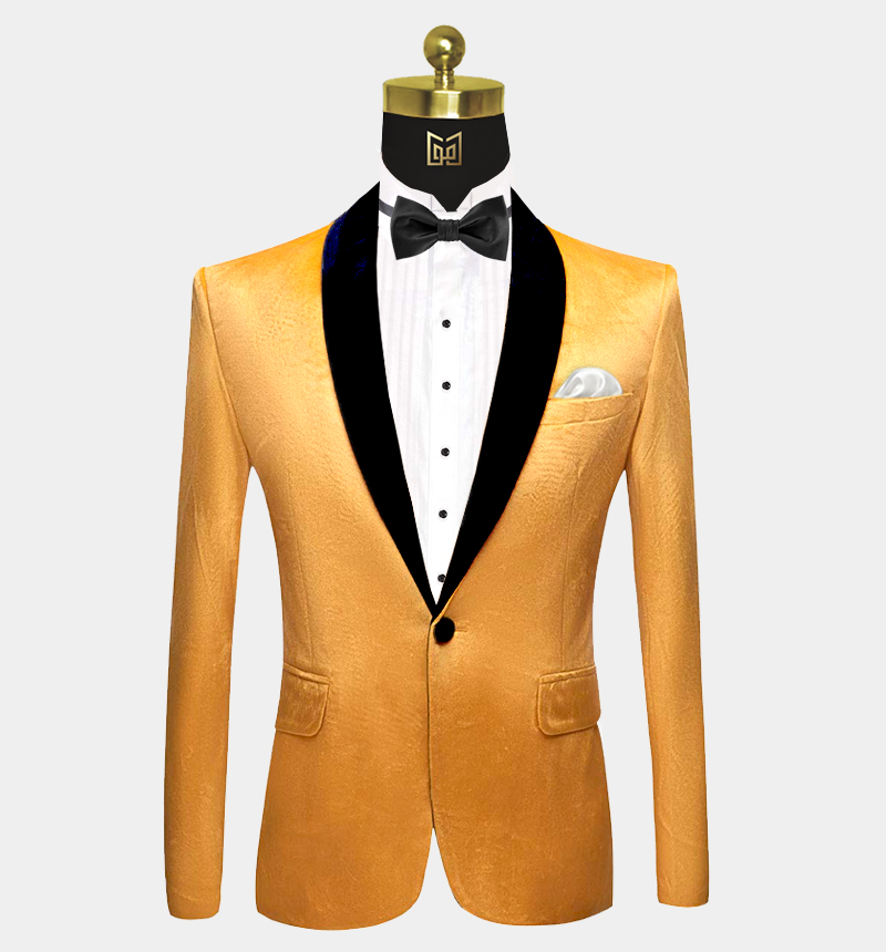Yellow-Gold-Velvet-Tuxedo-Jacket-Prom-Wedding-Blazer-from-Gentlemansguru.com