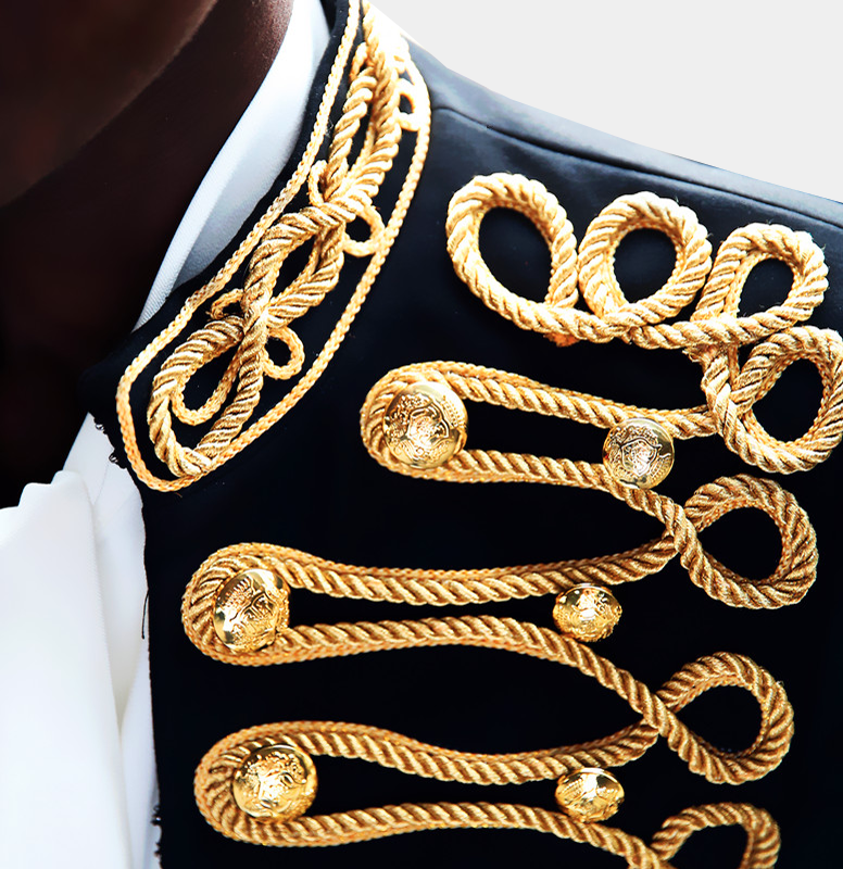 Extravergant-Black-Gold-Prom-Tuxedo-Wedding-Blazer-from-Gentlemansguru.com
