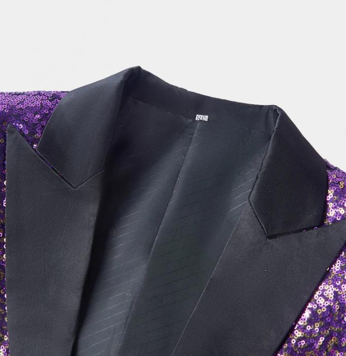 Gold-and-Purple-Tuxedo-Jacket-Sequin-Blazer-from-Gentlemansguru.com