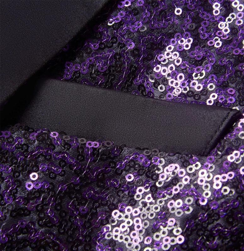 Purple-Black-Sequin-Tuxedo-Jacket-Prom-Blazer-Wedding-from-Gentlemansguru.com