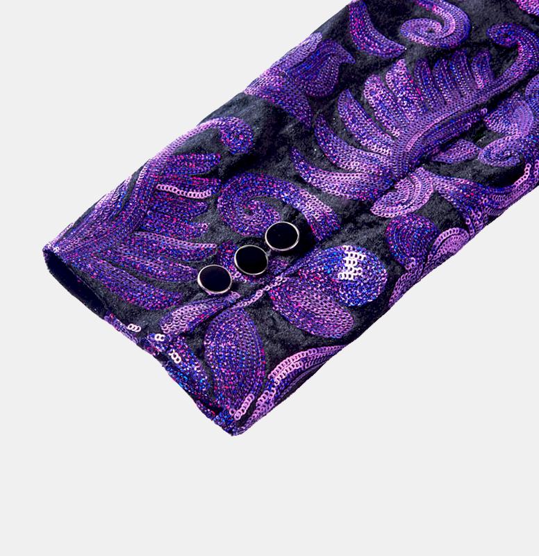 Purple-Sequin-Tuxedo-Jacket-Wedding-Tuxedo-from-Gentlemansguru.com