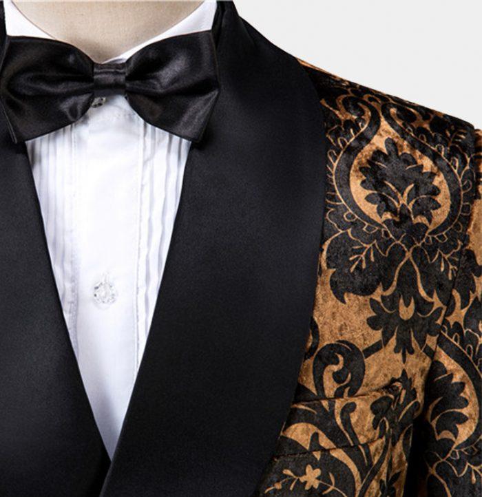 Black-and-Gold-Prom-Suit-Tuxedofrom-Gentlemansguru.com