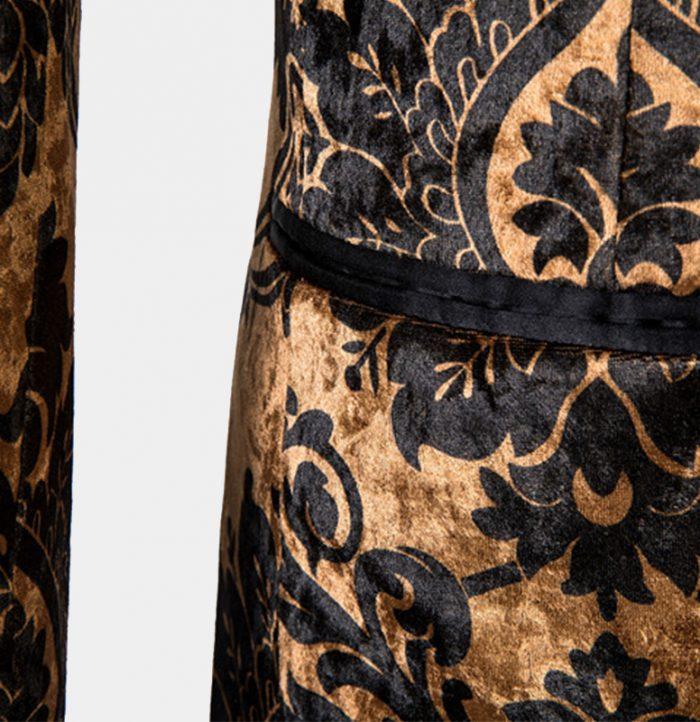 Black-and-Gold-Wedding-Tuxedo-Wedding-Suit-from-Gentlemansguru.com