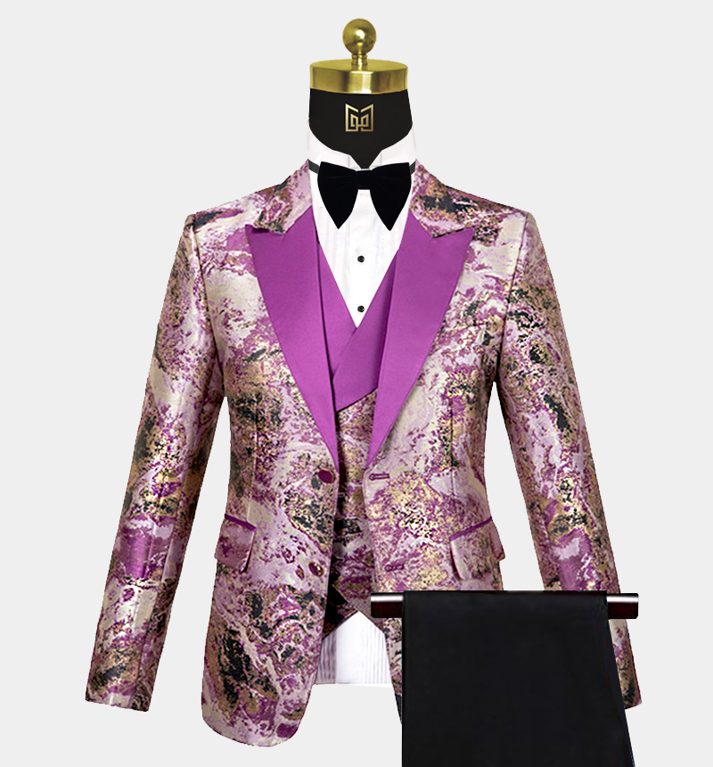 Purple-and-Gold-Tuxedo-Wedding-Prom-Suit-from-Gentlemansguru.com