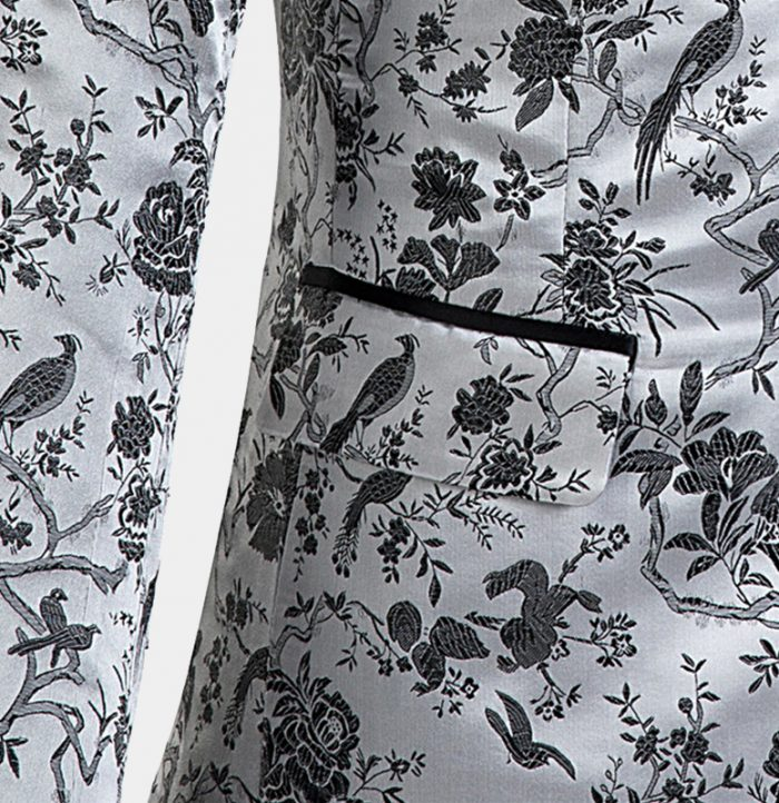 Silver-Tuxedo-with-Floral-Print-from-Gentlemansguru.com