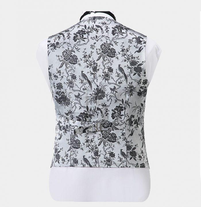 Silver-Vintage-Floral-Vest-Tuxedo-Waistcoat-from-Gentlemansguru.com