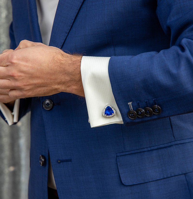 Customer-Gallery-Royal-Blue-Crystal-Cufflinks-Silver-Plating-Wedding-from-Gentlemansguru.com