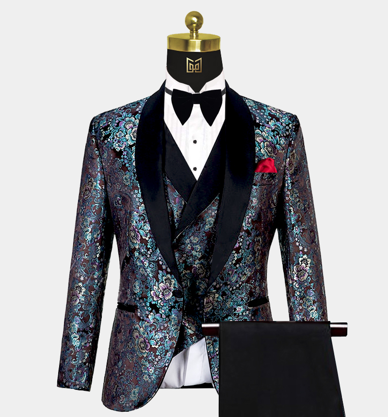 Mint-Green-Floral-Tuxedo-Wedding-Prom-Suit-from-Gentlemansguru.com