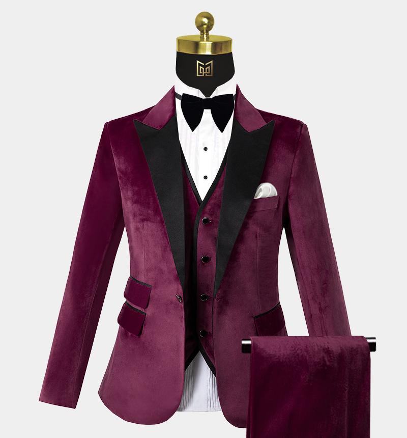 Mens-Burgundy-Velvet-Tuxedo-Wedding-Prom-Suits-from-Gentlemansguru.com