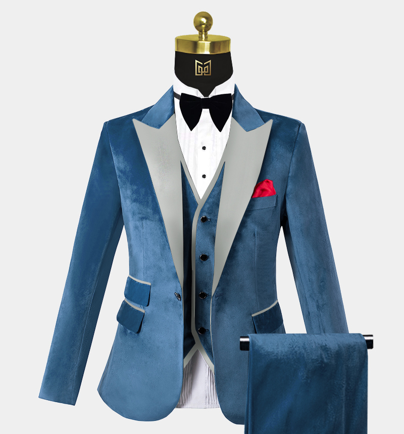 Mens-Cerulean-Blue-Velvet-Tuxedo-Wedding-Prom-Suits-from-Gentlemansguru.com