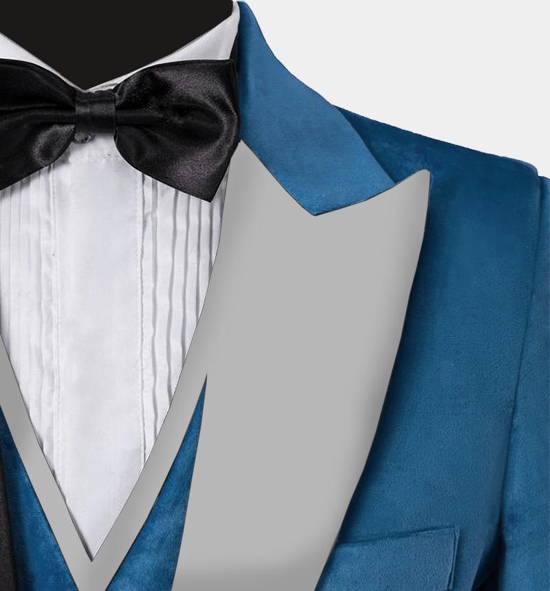 Mens-Cerulean-Crushed-Velvet-Tuxedo-Blazre-Wedding-Prom-Jacket-rental-from-Gentlemansguru.com