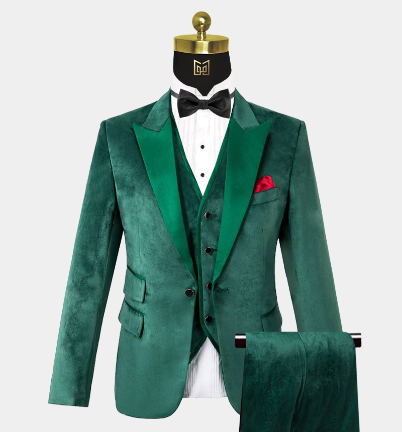 Mens-Emerald-Green-Velvet-Tuxedo-Wedding-Prom-Suit-from-Gentlemansguru.com