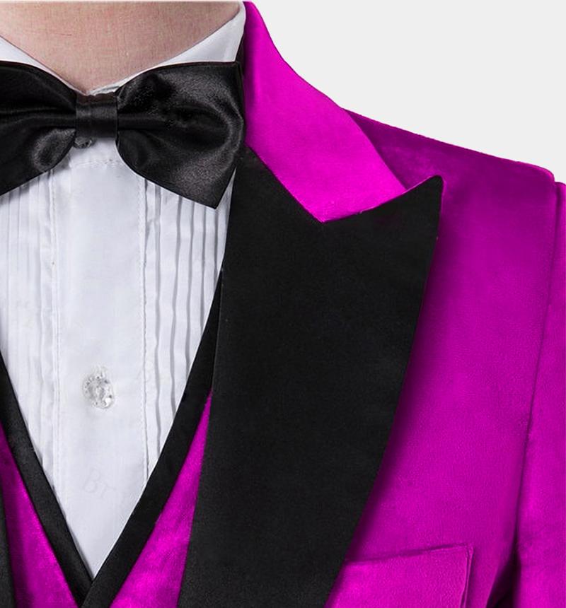 Mens-Pink-Crushed-Velvet-Tuxedo-Blazre-Wedding-Prom-Jacket-rental-from-Gentlemansguru.com