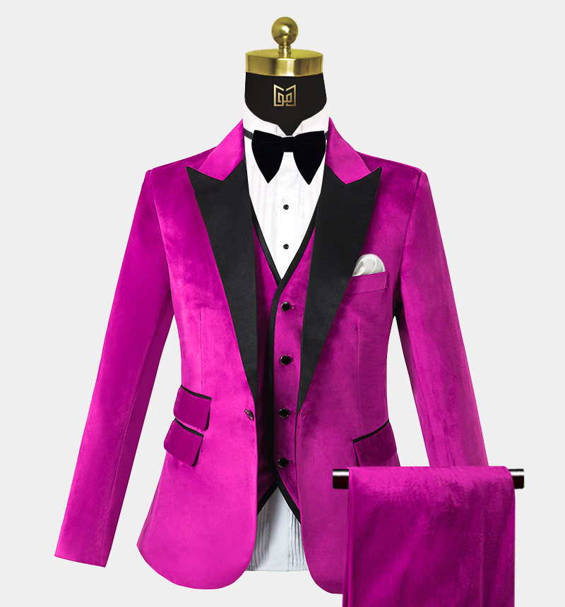 Mens-Pink-Velvet-Tuxedo-Wedding-Prom-Suits-from-Gentlemansguru.com