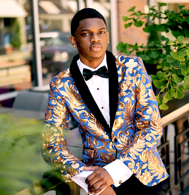 Customer-Review-Prom-Royal-Blue-Gold-Tuxedo-Jacket-from-Gentlemansguru.com