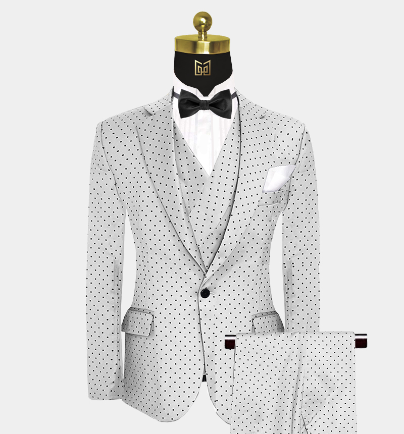 Silver-Polka-Dot-Suit-Wedding-Prom-Outfit-from Gentlemansguru.com