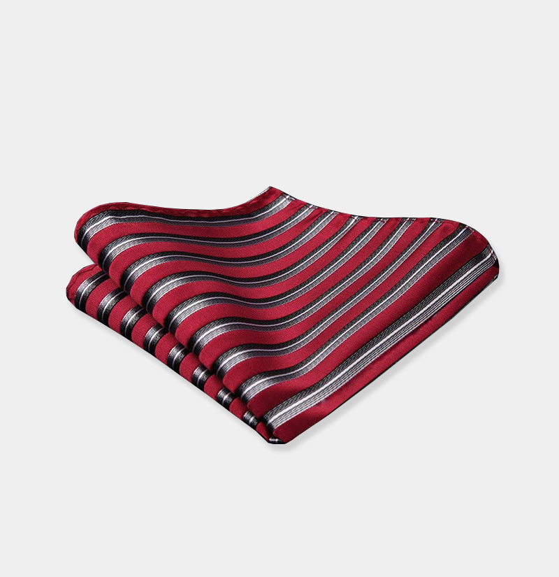 Burgundy-Striped-Pocket-Square-from-Gentlemansguru.com