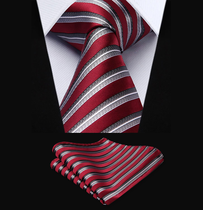 Burgundy-Striped-Tie-Set-from-Gentlemansguru.com