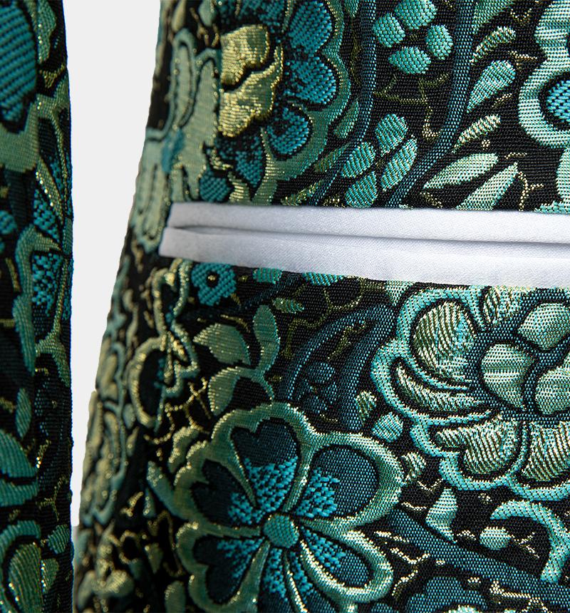 Green-Floral-Tuxedo-Suit-from-Gentlemansguru.com